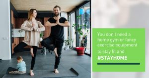 Stay Fit, Stay at Home